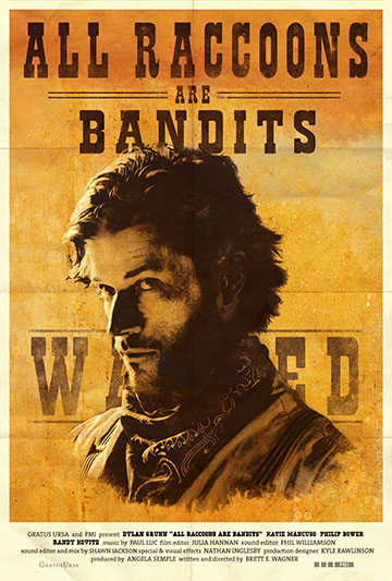 All Raccoons Are Bandits Poster